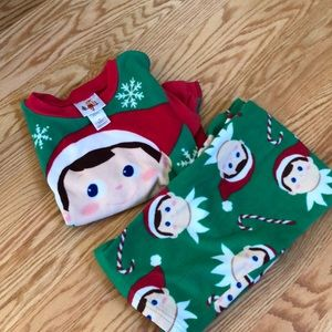 Other - Elf on the shelf pajamas